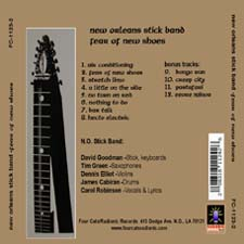 NO Stick Band back cover